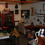oil-lamps-rug-beater-roseville-weller-old-phone